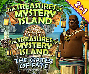 The Treasures of Mystery Island Bundel (2-in-1)