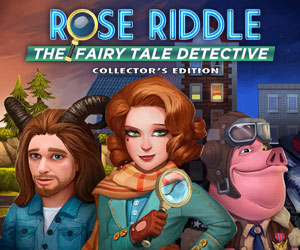 Rose Riddle - The Fairytale Detective Collector's Edition