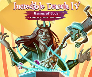 Incredible Dracula IV - Games of Gods Collector's Edition