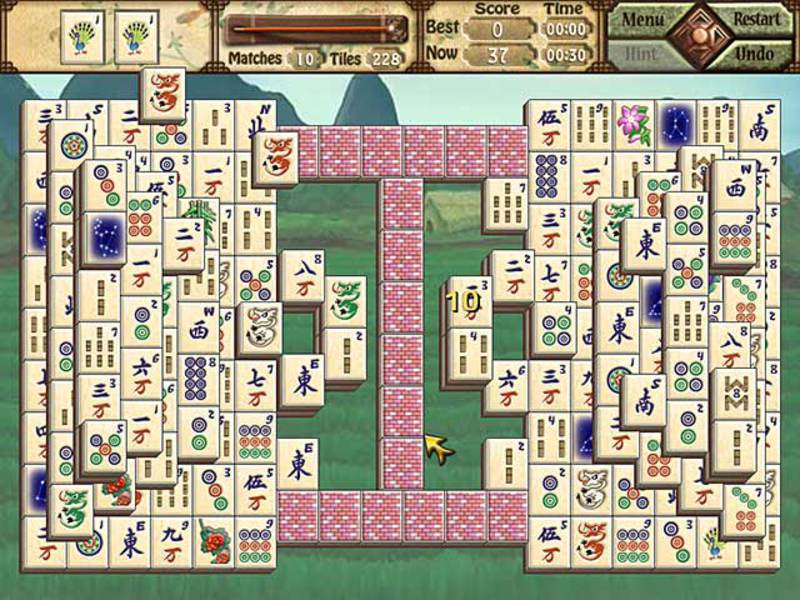 Скриншот к игре Mah Jong Quest III: Balance of Life.