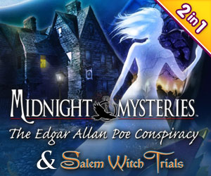 Midnight Mysteries Bundel: Edgar Allen Poe Conspiracy en Salem Witch Trials (2-in-1)