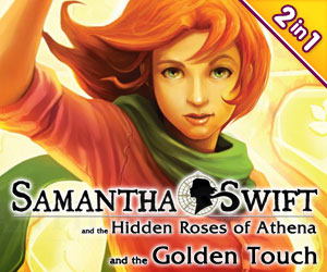 Samantha Swift Bundel: The Hidden Roses of Athena en The Golden Touch (2-in-1)