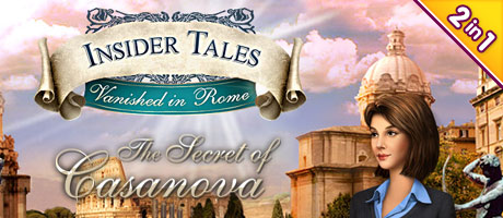 Insider Tales Bundel: The Secret of Casa Nova & Vanished in Rome (2-in-1)