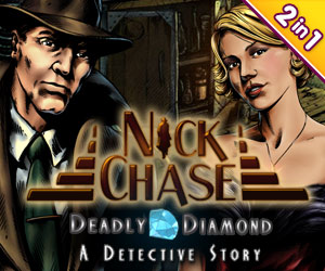 Nick Chase bundel: Nick Chase - A Detective Story & Nick Chase and the Deadly Diamond (2 in 1)