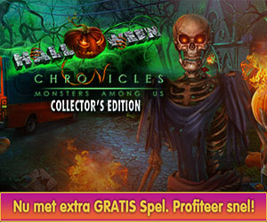 Halloween Chronicles - Monsters Among Us Collector's Edition + Gratis Extra Spel