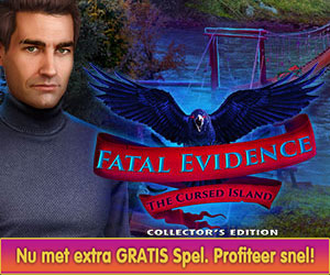 Fatal Evidence - The Cursed Island Collector's Edition + Gratis Extra Spel