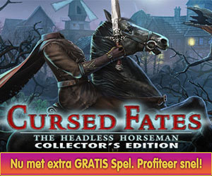 Cursed Fates - The Headless Horseman Collector's Edition + Gratis Extra Spel