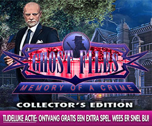Ghost Files - Memory of a Crime Collector's Edition + Extra Spel