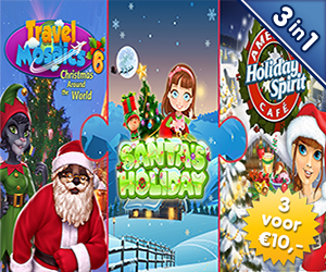 3 voor €10: Christmas Puzzle Pack