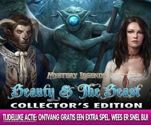 Mystery Legends - Beauty and the Beast Collector's Edition + Extra Spel