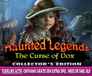 Haunted Legends - The Curse of Vox Collector's Edition + Extra Spel