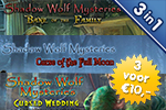 3 voor €10: Shadow Wolf Mysteries 1 - 2 - 3