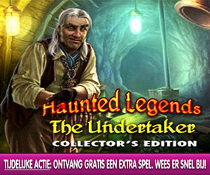 Haunted Legends - The Undertaker Collector's Edition + Extra Spel