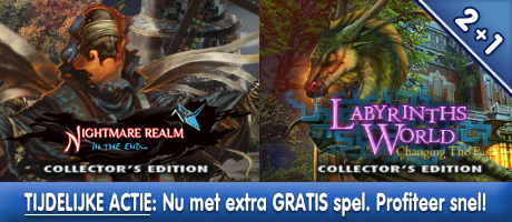 2+1: Nightmare Realm: In the End CE + Labyrinths of the World: Changing the Past CE + Extra spel