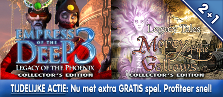 2+1: Empress of the Deep 3: Legacy of the Phoenix CE + Legacy Tales: Mercy of the Gallows CE + Extra spel