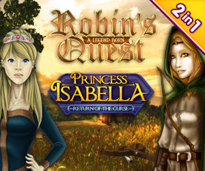 Princess Isabella: Return of the Curse en Robins Quest: A Legend Born Bundel (2-in-1)