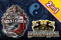 Secrets of the Dragon Wheel en The Mirror Mysteries Bundel (2-in-1)