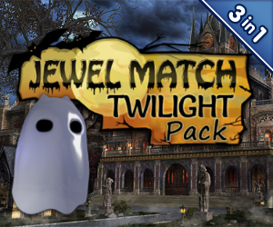 Jewel Match: Twilight Pack (3-in-1)