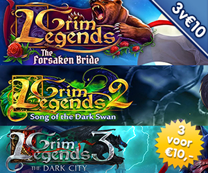 3 voor €10: Grim Legends 1 - 2 - 3