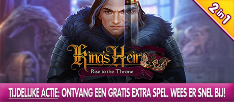 King's Heir - Rise to the Throne Collector's Edition + Extra Spel