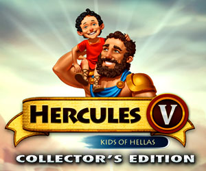 12 Labours of Hercules 5 - Kids of Hellas Collector's Edition