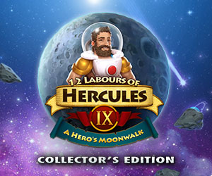 12 Labours of Hercules 9 - A Hero's Moonwalk Collector's Edition