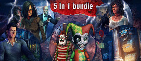 Hidden Object Bundle 5-in-1 (Steam)