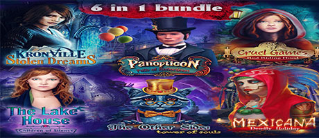 Hidden Object Bundle 6-in-1 (Steam)