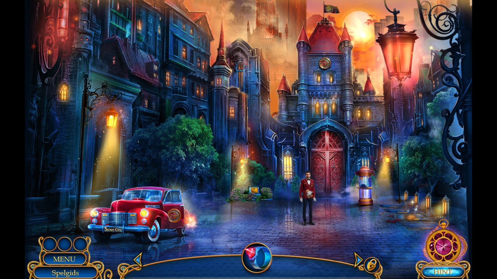 Secret City 4 - Chalk of Fate C - Speel leuke