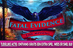 Fatal Evidence - The Missing Collector's Edition + Extra Spel