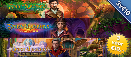 3 voor €10: Spirit Legends 1 - 2 - 3