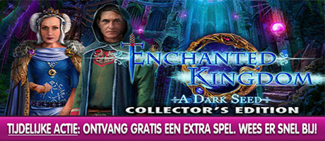 Enchanted Kingdom - A Dark Seed Collector's Edition + Extra Spel