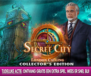 Secret City - London Calling Collector's Edition + Extra Spel