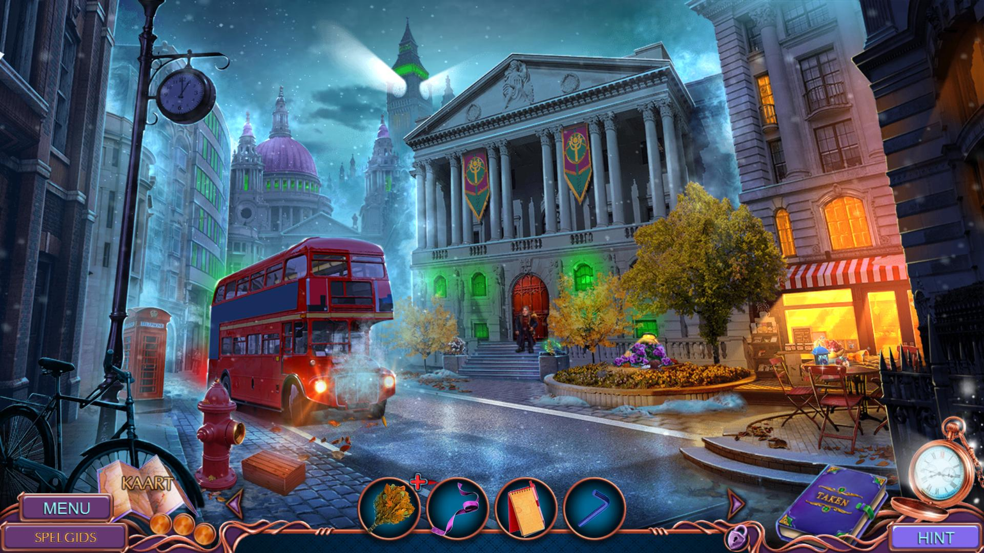 Secret City: Mysterious Collect - Speel leuke