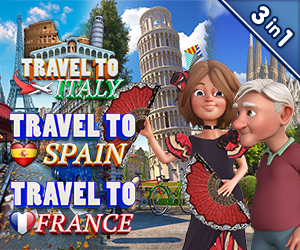 Travel to South Europe (3-in-1)