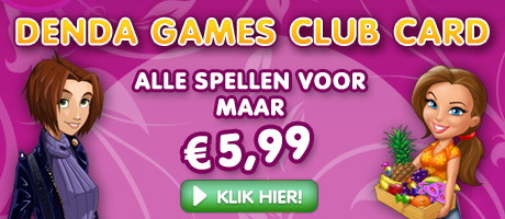Denda Games Club Card